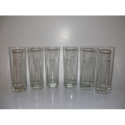 lot de 6 verres pour l 39 ap ro de la marque ricard neuf et. Black Bedroom Furniture Sets. Home Design Ideas