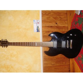 Ltd Viper 200 Black - Guitare �lectrique