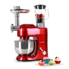 achetez klarstein lucia rossa robot de cuisine multifonction avec hachoir mixeur et batteur. Black Bedroom Furniture Sets. Home Design Ideas