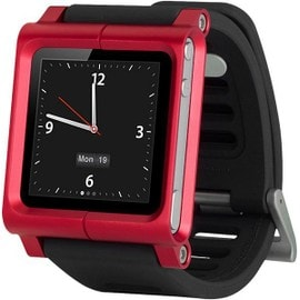 LunaTik RedRun Multi-Touch Watch Band - Bracelet montre pour iPod nano 6G