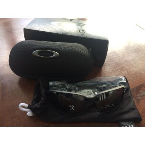 f719929219573e Lunette Oakley Carbon Prime Noir Mat Avec Prizm Black Polarized