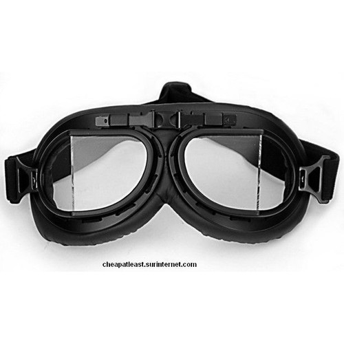 d23ff7e595e47a Lunettes À Verre Angulaire - Style Rétro Vintage Moto   Scooter   Harley    Vespa - Cosplay Steampunk Anime Manga Western Aviateur ...