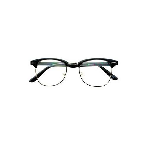 Lunettes Avec Verres Sans Correction Style Clubmaster - Achat et vente 1f3e0e47f015
