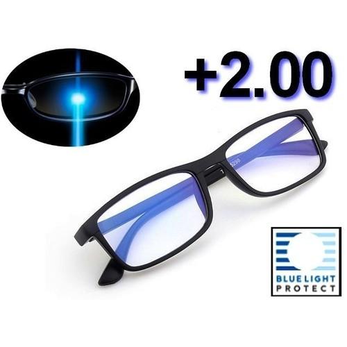 Lunettes de lecture grossissement protection uv400 cran anti lumi re bleue anti - Lunette protection ecran ...
