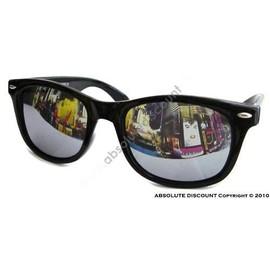 wayfarer noir lunettes de soleil verres miroir heju blog deco diy lifestyle. Black Bedroom Furniture Sets. Home Design Ideas