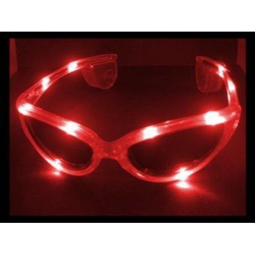 58b37c8d107a78 Lunettes Lumineuses Clignotantes Rouges Led Pour Fêtes Déguisement