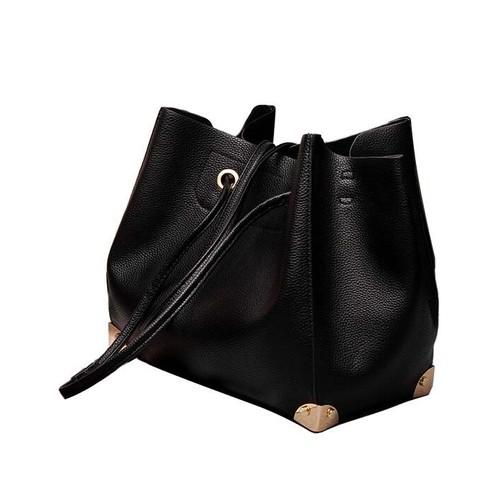 luxueux femme sac main pour femme sac bandouli re noir pas cher. Black Bedroom Furniture Sets. Home Design Ideas