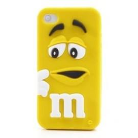 Coque M&M's Jaune - iPhone 5/5S