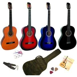 Petite annonce Pack Guitare Classique 4/4 Avec 5 Accessoires 4 Coloris Au Choix