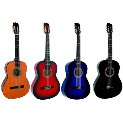 guitare classique 4 4 pour adulte 4 coloris aux choix priceminister. Black Bedroom Furniture Sets. Home Design Ideas