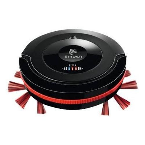Dirt devil m607 spider aspirateur robot noir pas for Robot piscine dirt devil