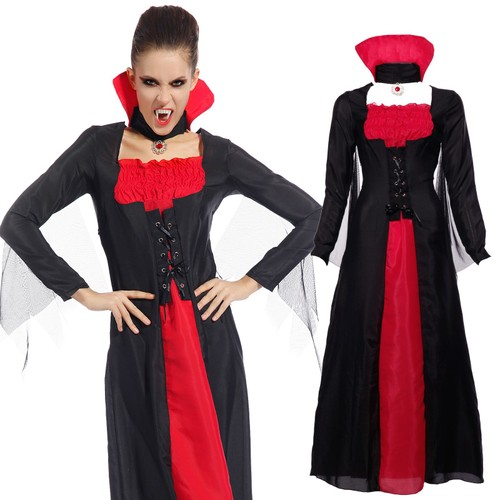 maboobie taille unique 34 38 deguisement costume tenue vampire halloween femme fille horreur. Black Bedroom Furniture Sets. Home Design Ideas