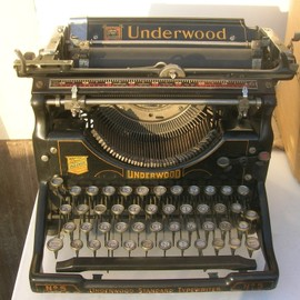 machine crire underwood standard typewriter n 5 1921. Black Bedroom Furniture Sets. Home Design Ideas