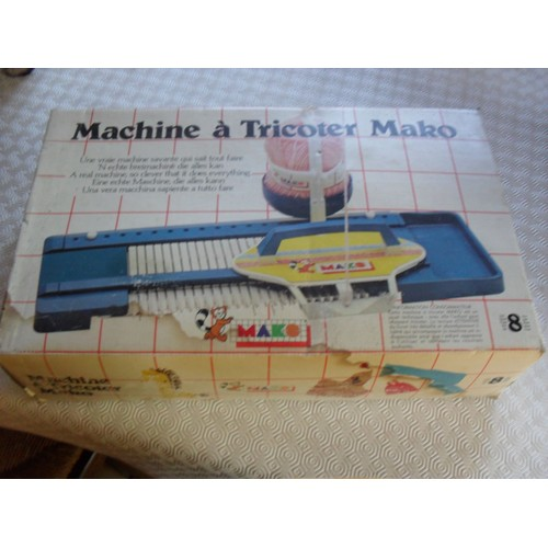machine tricoter mako achat vente de jouet rakuten. Black Bedroom Furniture Sets. Home Design Ideas