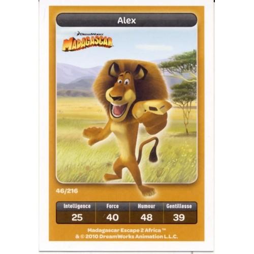 Madagascar : Alex N° 46 - Collection Dreamworks - Carrefour