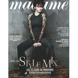 0535a62dad88 Madame Figaro N° 21631 - Eva Green, Année Héroïque. - Rakuten