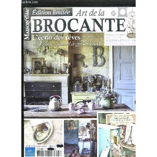 magazine art de la brocante maison chic n 3 septembre octobre 2011 de collectif format broch. Black Bedroom Furniture Sets. Home Design Ideas