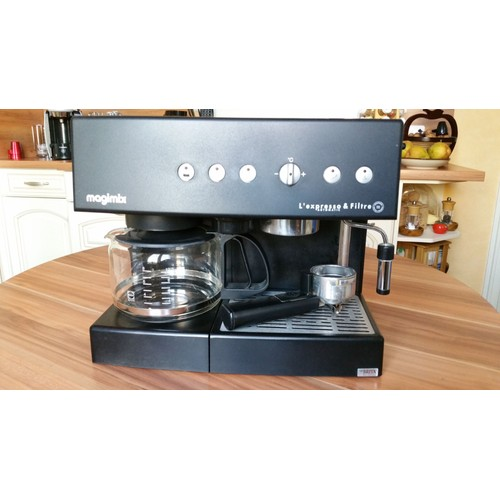magimix 11405 ed 135a combin cafeti re l 39 expresso filtre automatic. Black Bedroom Furniture Sets. Home Design Ideas
