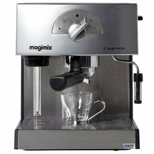 magimix l 39 expresso 11411 machine caf avec buse vapeur cappuccino. Black Bedroom Furniture Sets. Home Design Ideas