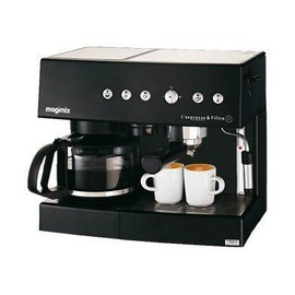 magimix l 39 expresso filtre automatic machine caf. Black Bedroom Furniture Sets. Home Design Ideas