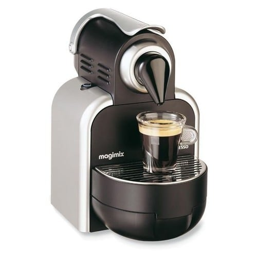 magimix nespresso m100 auto machine caf pas cher. Black Bedroom Furniture Sets. Home Design Ideas