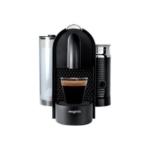 magimix nespresso u milk machine caf pas cher. Black Bedroom Furniture Sets. Home Design Ideas