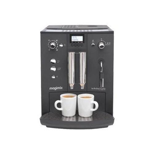 magimix robot caf automatic machine caf automatique avec buse vapeur cappuccino. Black Bedroom Furniture Sets. Home Design Ideas