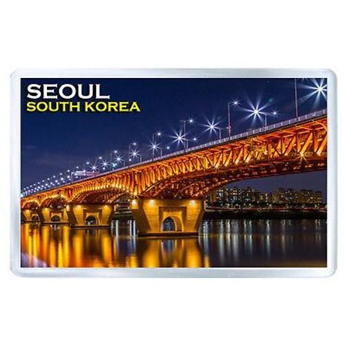 magnet aimant de frigo seoul south korea neuf et d 39 occasion. Black Bedroom Furniture Sets. Home Design Ideas