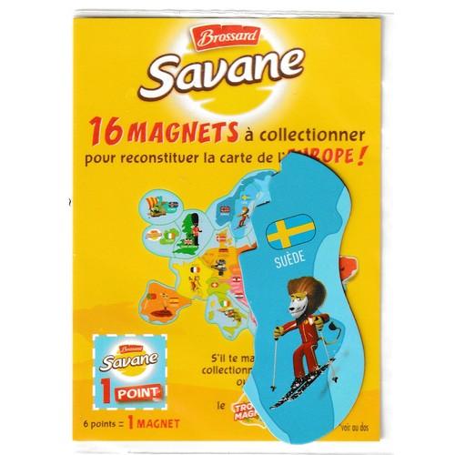 Carte Europe Brossard.Magnet Brossard Savane Carte De L Europe Suede