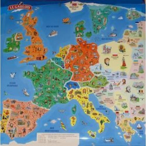 carte europe le gaulois