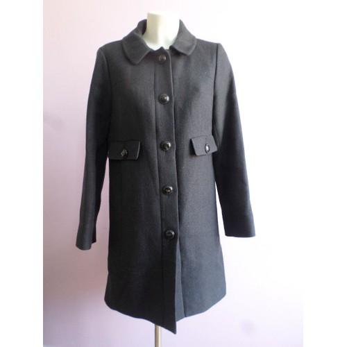 Magnifique manteau comptoir des cotonniers cobalt taille - Code avantage comptoir des cotonniers ...