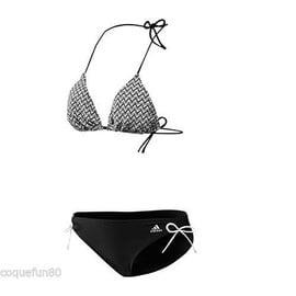 Etiquettes Bain De Adidas 38 Avec Neuf Maillot 2 Pieces Taille nwvm0ON8