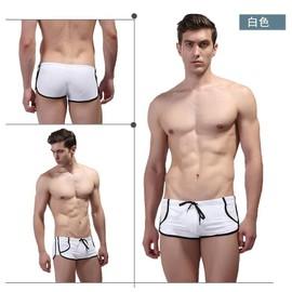 Maillot de bain boxer sexy homme bermuda short swimwear for Short piscine homme