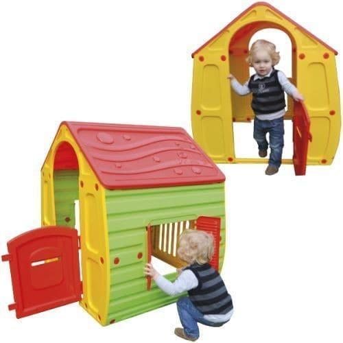 Maison cabane en plastique pour enfant jeu jouet exterieur - Cabane exterieur enfant ...