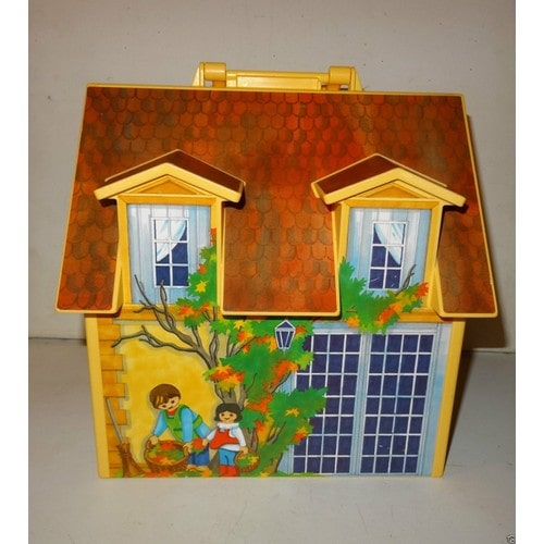 playmobil geobra 2005 maison de poup es achat et vente. Black Bedroom Furniture Sets. Home Design Ideas