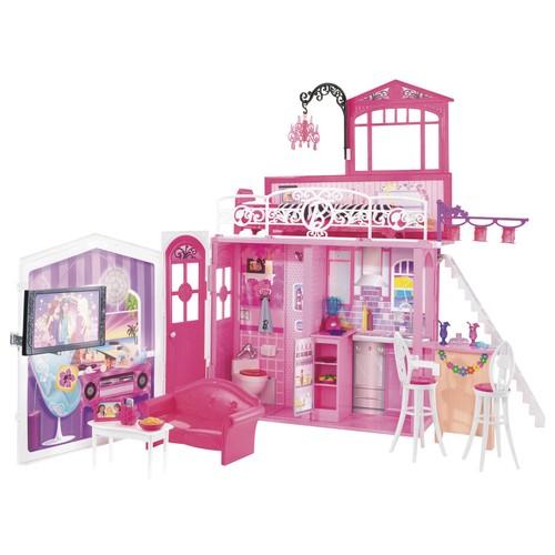maison glamour barbie achat vente de jouet priceminister rakuten. Black Bedroom Furniture Sets. Home Design Ideas