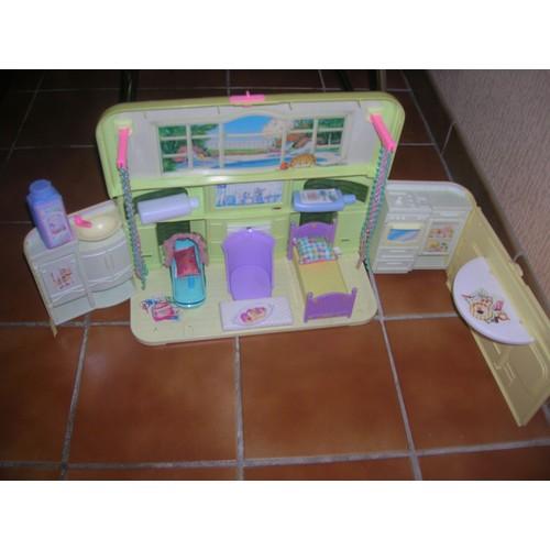 maison radio musicale de barbie mattel 1999 achat et vente. Black Bedroom Furniture Sets. Home Design Ideas