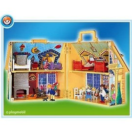 playmobil 4145 maison transportable neuf et d 39 occasion. Black Bedroom Furniture Sets. Home Design Ideas