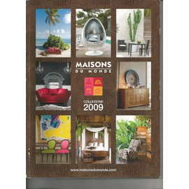 maisons du monde 00 catalogue collection 2009