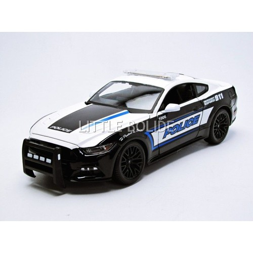 maisto 1 18 ford mustang gt police usa 2015. Black Bedroom Furniture Sets. Home Design Ideas