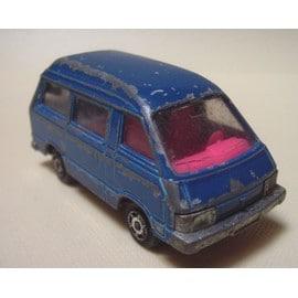 Majorette - Minibus Toyota Lite Ace - Bleu - N�216 (1983/1991) - Ech 1/52