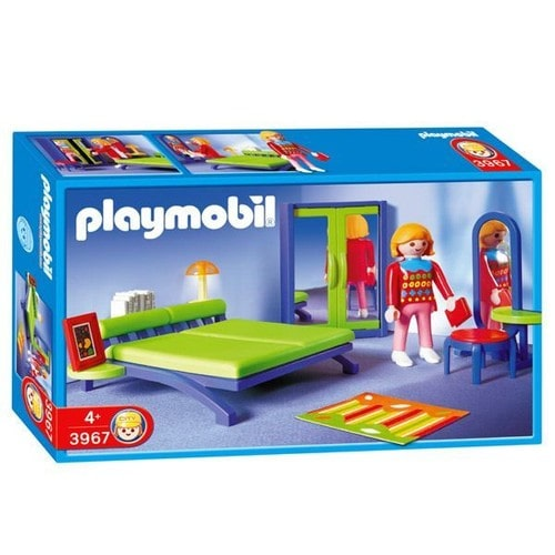Playmobil 3967 achat vente neuf occasion priceminister for Chambre des parents moderne