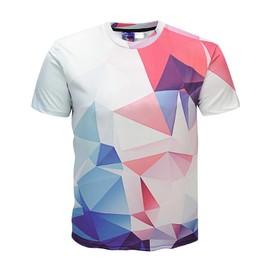Shirt Ete 3d Homme Impression Manches Géométrie T Courte 60EwAAq8x