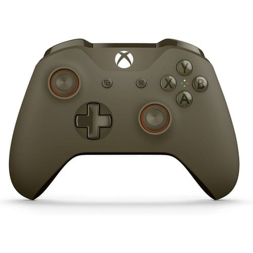 manette officielle pour xbox one sans fil vert et orange. Black Bedroom Furniture Sets. Home Design Ideas