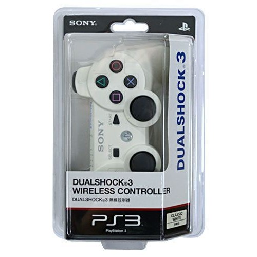 manette ps3 dualshock 3 sony blanche pas cher priceminister. Black Bedroom Furniture Sets. Home Design Ideas