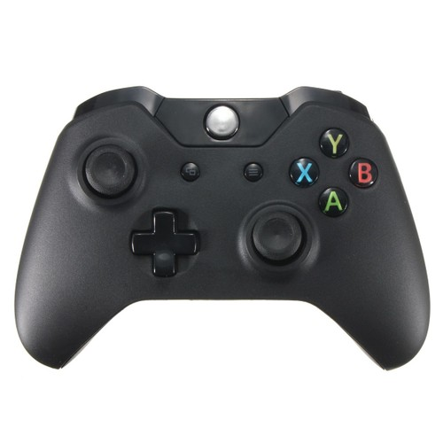 manette sans fil noire gamepad joypad pour microsoft pc xbox one. Black Bedroom Furniture Sets. Home Design Ideas
