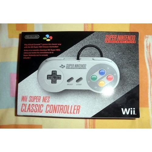 manette super nintendo pour wii super nes classic. Black Bedroom Furniture Sets. Home Design Ideas