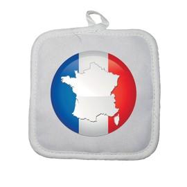Drapeau Rond manique gant de cuisine france drapeau rond - achat et vente - rakuten