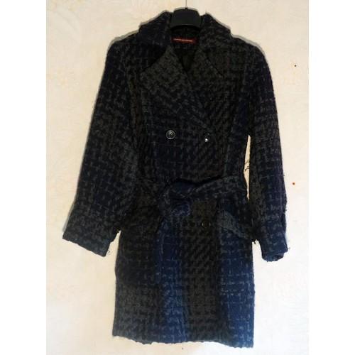 Manteau comptoir des cotonniers laine 36 bleu achat et vente - Code avantage comptoir des cotonniers ...