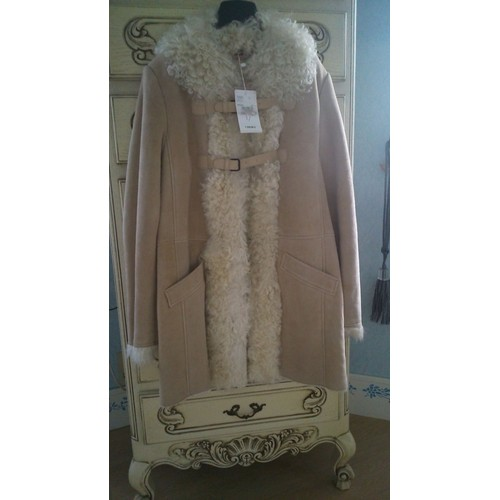 Manteau comptoir des cotonniers manteau agneau fourrure l - Code avantage comptoir des cotonniers ...
